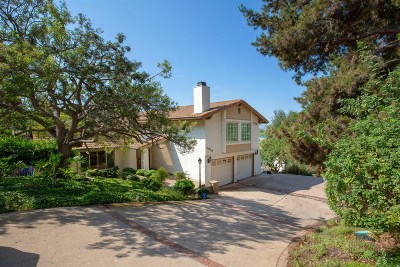 San Diego County Single Family Home For Sale: 3614 Mary Lane
