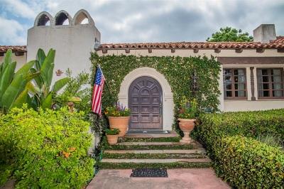 Rancho Santa Fe Single Family Home For Sale: 16734 Via De Santa Fe