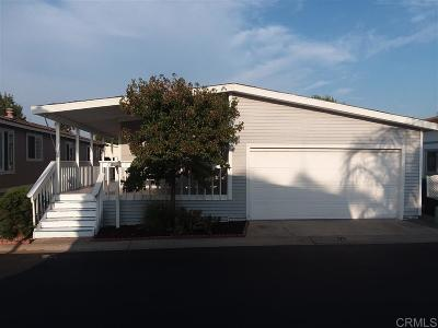 San Diego County Mobile/Manufactured For Sale: 9255 N Magnolia Ave #SPC 171