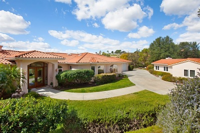 Fallbrook Single Family Home For Sale: 1166 Arroyo Pacifica