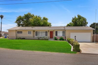 San Diego County Single Family Home For Sale: 8067 Darryl St.