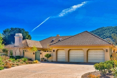 Single Family Home For Sale: 16165 Pauma Valley Drive