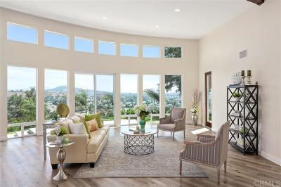 Escondido Single Family Home For Sale: 632 Oakwood Creek Glen