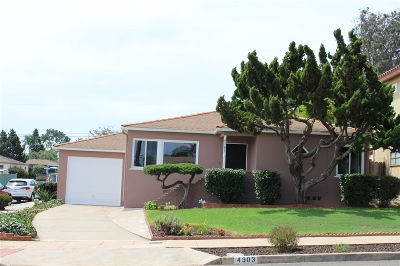 San Diego CA Single Family Home For Sale: $1,199,000