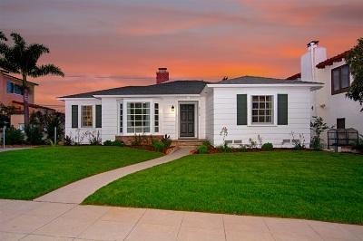 Single Family Home For Sale: 2716 Poinsettia Drive