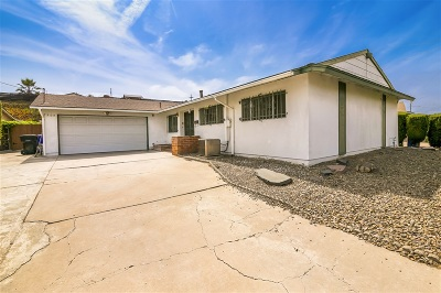 Linda Vista Single Family Home For Sale: 7305 Fulwood Lane