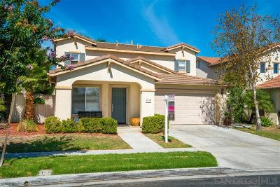 Otay Ranch Single Family Home For Sale: 1615 Applegate St