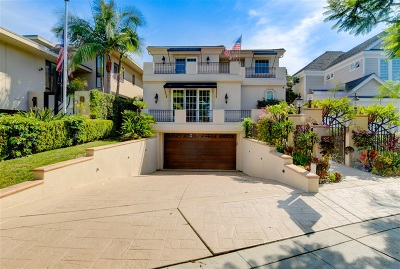 Coronado Single Family Home For Sale: 707 Guadalupe Avenue