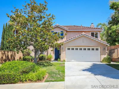 San Marcos Single Family Home Sold: 1043 Via Vera Cruz