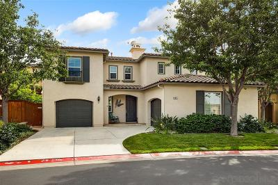 San Marcos Single Family Home For Sale: 414 Camino Hermoso