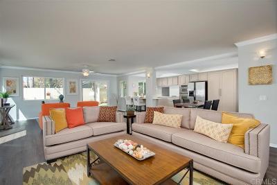 Encinitas Single Family Home Sold: 2020 Avenida La Posta