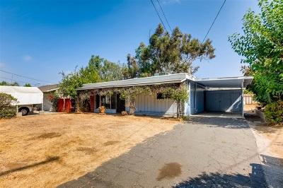 Vista Single Family Home For Sale: 2012 Thibodo Road