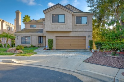 Carlsbad Single Family Home For Sale: 4191 Parkside Pl