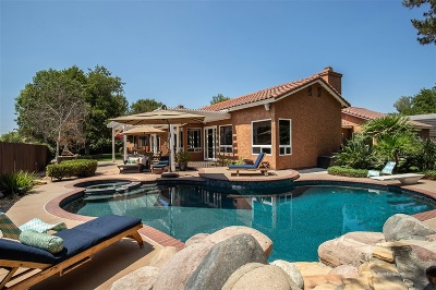 Poway Single Family Home For Sale: 14543 Tierra Bonita Road