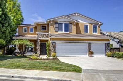 Carlsbad Single Family Home Sold: 3416 Camino Corte
