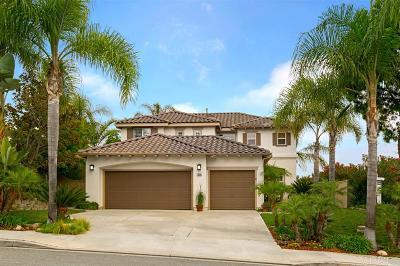 La Costa Valley Single Family Home Sold: 7856 Paseo Tulipero