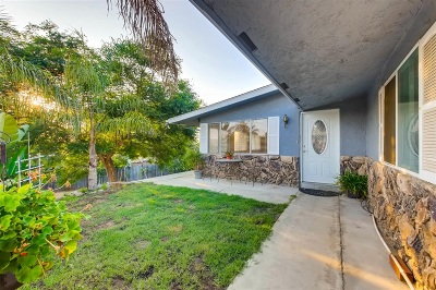 Vista Single Family Home For Sale: 468 Dennis