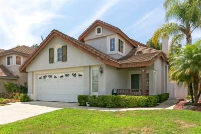 San Marcos Single Family Home For Sale: 741 Lupine Drive
