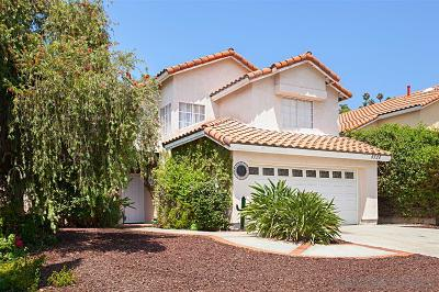 Rancho Penasquitos Single Family Home For Sale: 9328 Adolphia Street