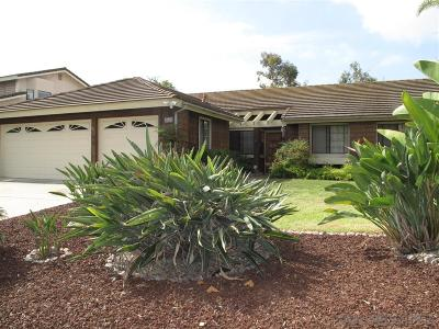Carlsbad Single Family Home For Sale: 2689 Vancouver Street
