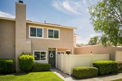 Poway Townhouse For Sale: 13671 Comuna Dr