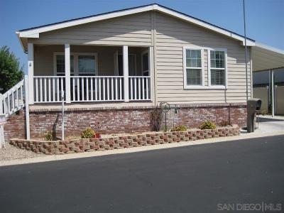 Escondido Single Family Home For Sale: 525 W El Norte Pkwy #SPC 210