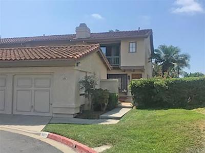 Carlsbad Townhouse Sold: 6803 Maple Leaf Drive