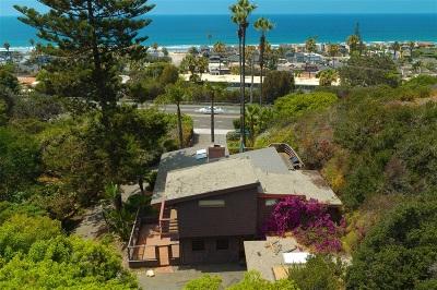 Single Family Home For Sale: 1801 Camino Del Mar