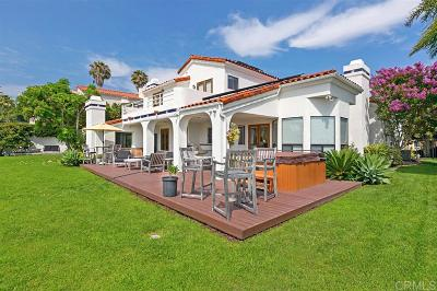 Cardiff By The Sea CA Single Family Home For Sale: $2,350,000