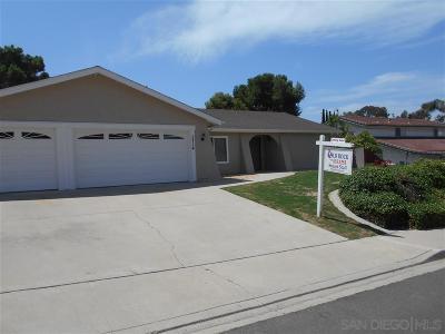 Single Family Home For Sale: 3714 Bonita View Drive