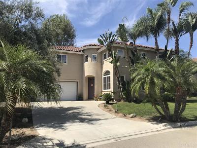 Vista Single Family Home For Sale: 1053 Via Carina