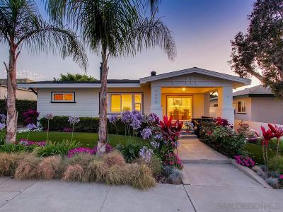 La Jolla Single Family Home For Sale: 7436 Fay Ave.