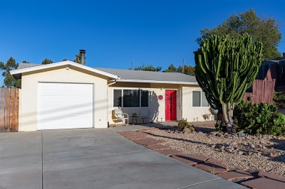Santee Single Family Home For Sale: 8615 Placid View