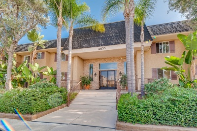 San Diego Attached For Sale: 3535 Madison Ave #239
