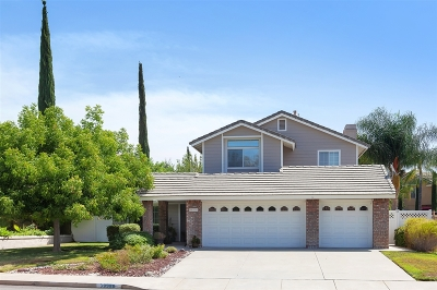 Murrieta Single Family Home For Sale: 39988 Willowbend Drive