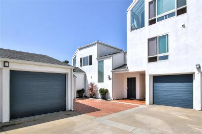 Solana Beach Townhouse For Sale: 330 Shoemaker Court