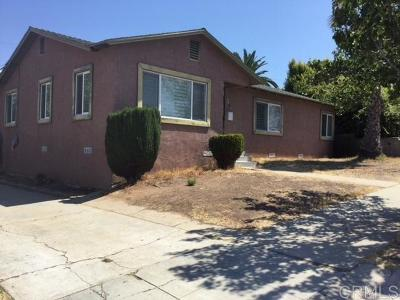 San Diego Single Family Home Contingent: 5630 Trinidad Way
