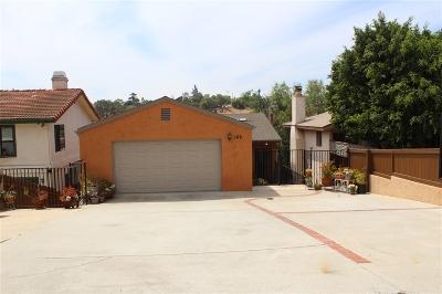 Vista Single Family Home For Sale: 169 Terrace Drive