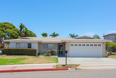 Carlsbad Single Family Home For Sale: 3860 Valley St