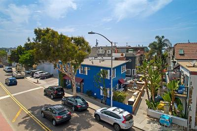 Pacific Beach, Mission Beach Multi Family 2-4 For Sale: 3944 Mission Blvd