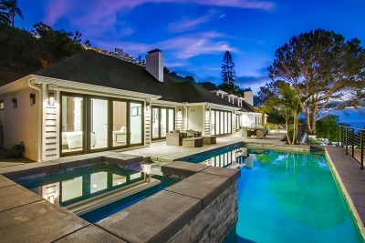 La Jolla Single Family Home For Sale: 2695 Hidden Valley Rd