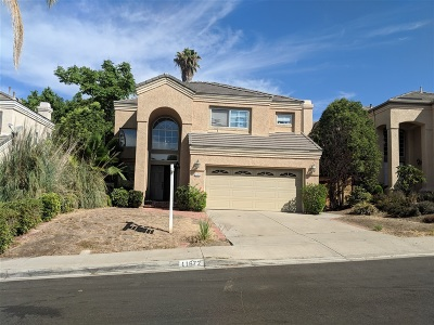 San Diego Single Family Home For Sale: 11672 Boulton Ave