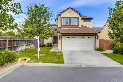 Escondido Single Family Home For Sale: 880 Venice Glen