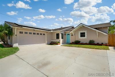Poway Single Family Home For Sale: 12929 Carriage Rd