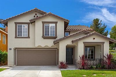 Vista Single Family Home For Sale: 1590 Acacia Cir