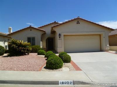 Oaks North Single Family Home For Sale: 18022 Via Rota