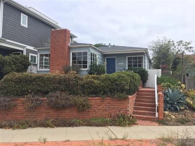 La Jolla Single Family Home Sold: 5513 Bellevue