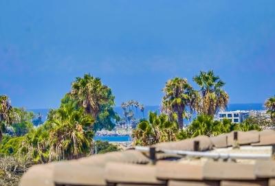 Ocean Beach Townhouse For Sale: 4477 Mentone #210