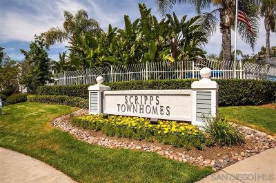 Townhouse Sold: 10060 Scripps Vista Way #40