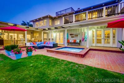 Sunset Cliffs Single Family Home For Sale: 710 Cordova Street